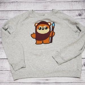 Star wars sweatshirt.used.L.